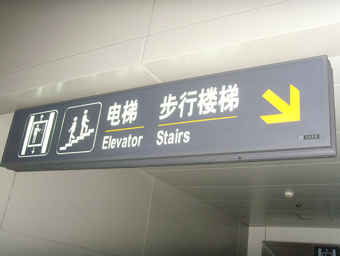 LED Openable Airport lightbox